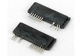 深圳SATA7+6P 铆压式 母头 LCP料 C款 直角