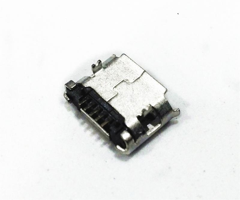 迈克Micro USB SMT贴片式 黄铜端子 镀金GF 载带包装