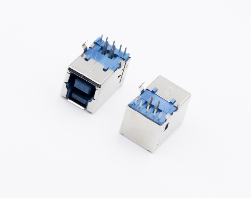 USB3.0 BM 短体 蓝胶