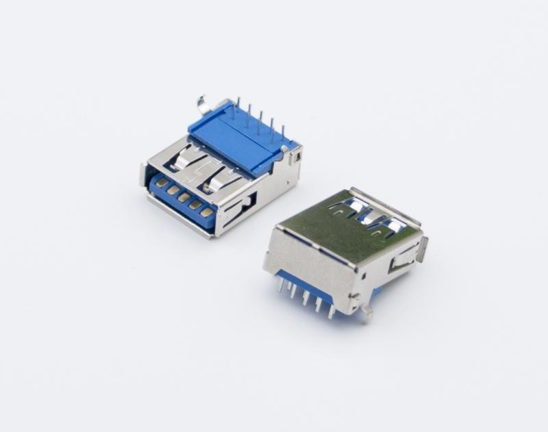 USB 3.0 AM 公 短体 插头